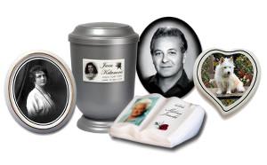 Foto na hroby, pomníky a urny
