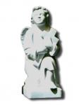 352 Anděl klečící 44 cm