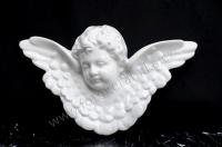 136 Hlava anděla s křídly 14 x 23 cm