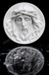 Ecce Homo / Hlava Krista ⌀ 8 cm