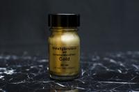 Zlatá barva na písmo